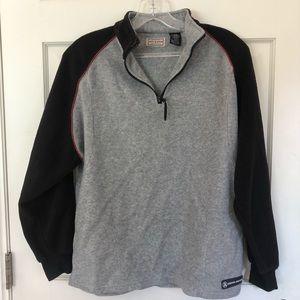 Arizona Boys Large Quarter Zip Sweatshirt